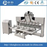 マルチヘッド回転式接続機構が付いている木製CNCのルーター機械