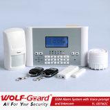 Sistema de alarma sin hilos inteligente de ladrón del G/M del fuego de la seguridad casera con el APP
