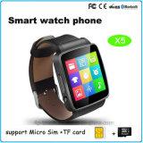 Intelligenter Bluetooth Uhr-Handy mit SIM Einbauschlitz (X6)