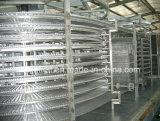 IQF escogen la máquina de congelación rápida espiral