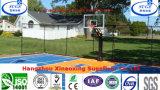 Pp die het Veerkrachtige Vierkante Hof van het Basketbal van de Vorm Armstrong vloeren
