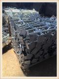Base registrabile galvanizzata del Jack del TUFFO caldo per l'impalcatura 600mm