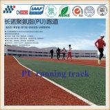 pista corrente atletica permeabile di spessore di 13mm