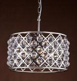 Metallischer Clinder Leuchter mit Kristallkugeln (WHG-929)