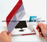 주문을 받아서 만들어지는 7 인치 LCD 스크린 최신 판매 비디오 카드 광고