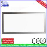Panel de 30x60cm 18W Plaza empotrada LED artefacto de iluminación