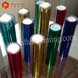 Utilisations chaudes colorées de clinquant d'estampage pour le plastique