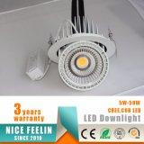 クリー族の穂軸LEDの5Wによって引込められるジンバルLight&Downlight&Spotlight