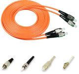 Conector 3meter del duplex FC-FC de la cuerda de corrección de la fibra con varios modos de funcionamiento