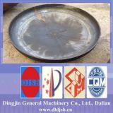 Cabeça de prato de aço carbono aplicada ao recipiente de pressão