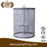Lâmpada de aço do teto do projeto da gaiola
