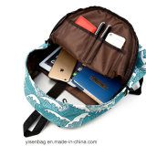 Zaino di corsa del sacchetto di banco di stampa di Digitahi del poliestere di modo 600d