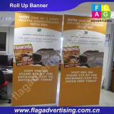 Изготовленный на заказ электрические свертывают вверх Retractable знамя для рекламировать