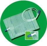 Saco descartável da drenagem da urina com CE e ISO13485
