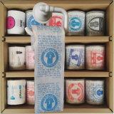 誕生日おめでとうの洗面所のワイプ党はトイレットペーパーのティッシュロールを印刷した