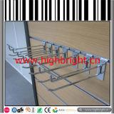 Kleinchrom-Oberflächen-Metalldraht-Zahnstangen-Bildschirmanzeige-Haken