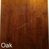 참나무를 위한 목제 마루/UV 래커를 가진 오크 마루