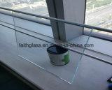 vidro temperado de cristal ultra desobstruído extra de 10mm