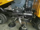 Camion automatique de lavage de balayeuse de route de nettoyage de rue de roues de Foton 6