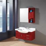 Самомоднейшая стена установила конструкцию тщеты ванной комнаты гостиницы деревянную