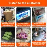 Máquina lisa comercial do gelado da fritada de Tailândia do Stir da bandeja