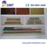 Chaîne de production de refoulement de panneau en bois en plastique de trappe de PVC