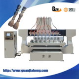 1815 houten, Acryl, Steen, Aluminium, Plastic, Multi-Spindle CNC Router