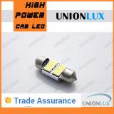 La lumière de plaque minéralogique de la lumière de feston de la voiture DEL du CREE C5w