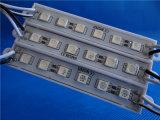 보장 2 년은 광고를 위한 5050의 LED 모듈을 방수 처리한다