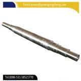 Geschmiedete und maschinell bearbeitete industrielle Stahlwelle 45# 1040 1045