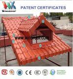 Плитка крыши синтетической смолаы выигрышей PMMA/Asa для живущий домов