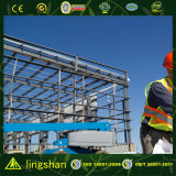 Grand entrepôt préfabriqué de structure métallique