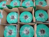 500mm*1800m*25mic 사일로에 저항한 꼴의 둥근 가마니를 위한 녹색 사일로에 저항한 꼴 포장 필름