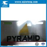 Plaque minéralogique en aluminium d'ABS d'OEM