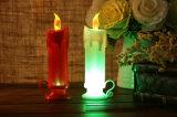 Воск батареи непламенный миражирует свечки конусности СИД