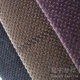 Tissu mou décoratif de velours de cheveu court pour des couvertures de sofa