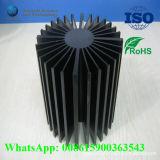 Pièce de radiateur de moulage d'aluminium de Paiting d'enduit pour CPU DEL de GPU