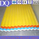 반투명 FRP 섬유 유리 물결 모양 편평한 루핑 장