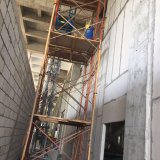 Exterior Wall와 Interior Wall를 위한 미리 틀에 넣어 만들어진 Concrete EPS Wall Board