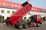 6X4 구동 장치형 25tons 덮음 덤프 트럭