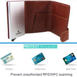 현금 & 신용 카드를 위한 지갑을%s 가진 RFID 카드 홀더