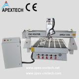 Hölzerne CNC-Fräser-Maschine mit Fertigkeit-hölzernen Proben (1318)