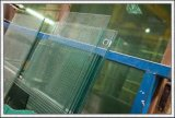 건물을%s 공간 또는 색을 칠한 단단하게 한 유리 또는 외벽 또는 문