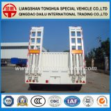 rimorchio del camion di 80tons Lowbed/Lowboy semi con le scalette della molla