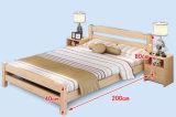Camas matrimoniales modernas de la cama de madera sólida (M-X2227)