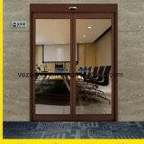 Электрическая стеклянная раздвижная дверь для входа, двери датчика радиолокатора с сертификатом Ce
