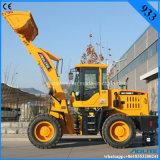 Mini caricatore della rotella del motore di Quanchai del caricatore da vendere per il macchinario edile