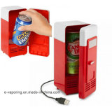 USB Electricity Powered Mini Fridge Upright Freeze met LED