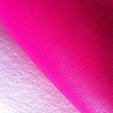 Горячая кожа сумки PVC текстуры Crosshatch надувательства