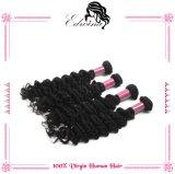 do cabelo peruano do Virgin da classe 7A cabelo humano Curly Kinky de Remy